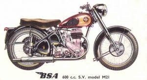 BSA 1956 M21