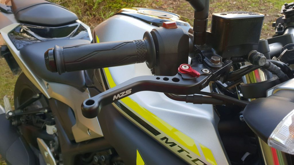 Yamaha MT-03, Shorty Levers