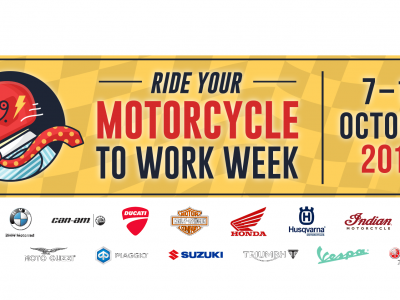 Ride Your Motorcycle To Work Week