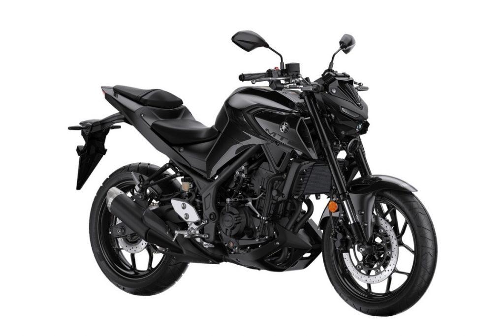 2020 Yamaha MT-03 Midnight Black