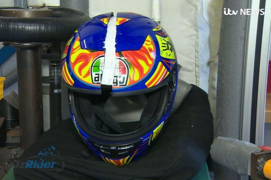 Fake AVG Helmet