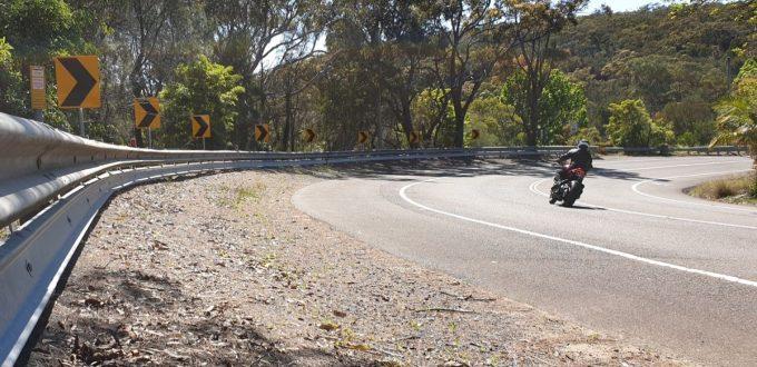 Motorcyclist Protective Rail