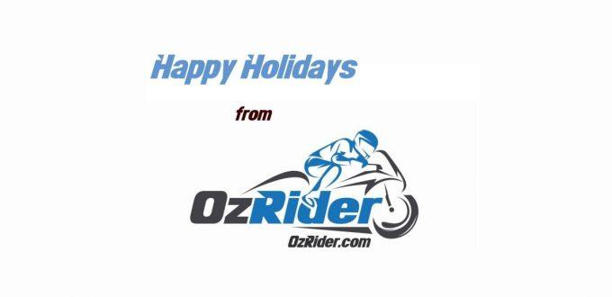 OzRider Happy Holidays