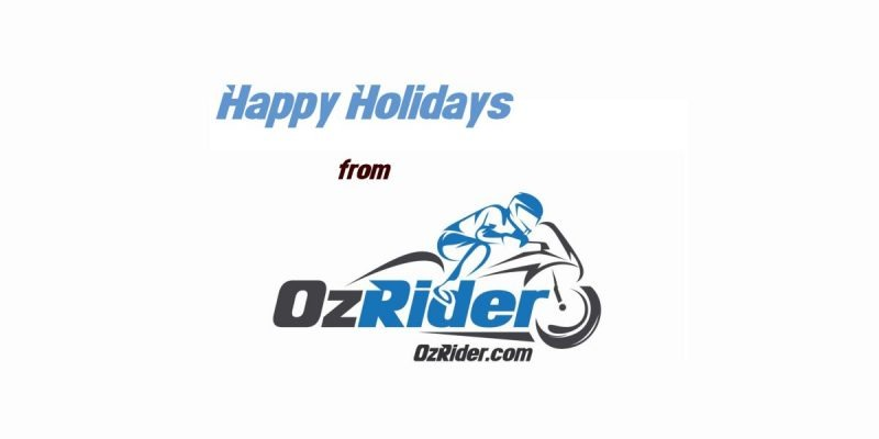 OzRider Happy Holidays