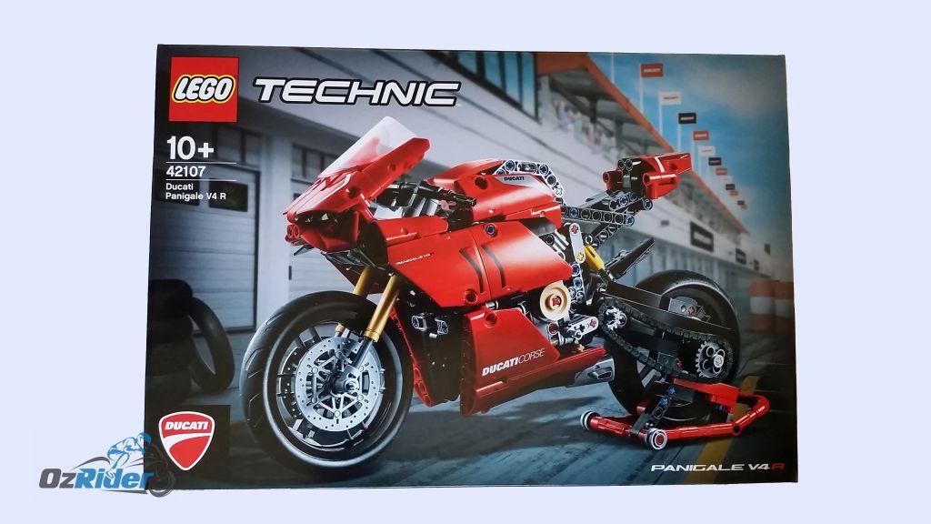 Lego Ducati Panigale V4 R Box