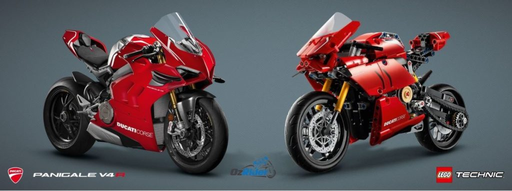 Lego Ducati Panigale V4 R with Lego